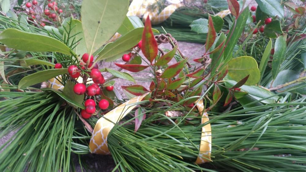 Celebrate Christmas Making A Festive Wreath