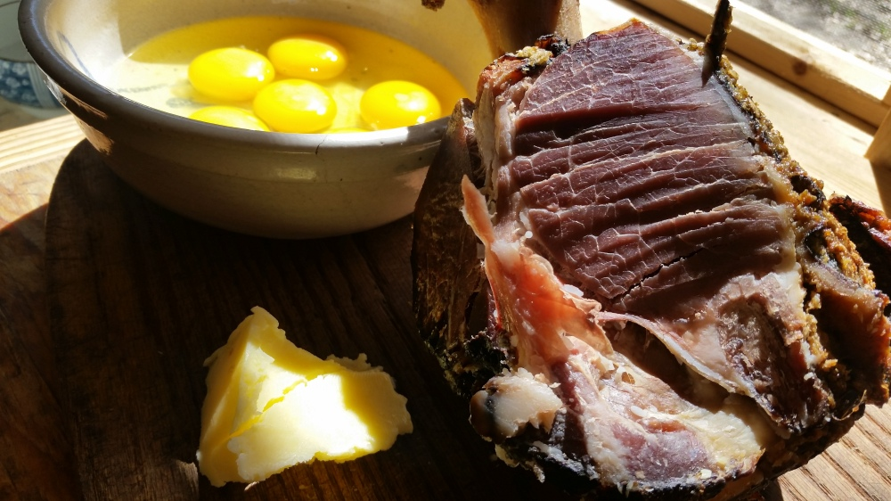 Ham Omelet
