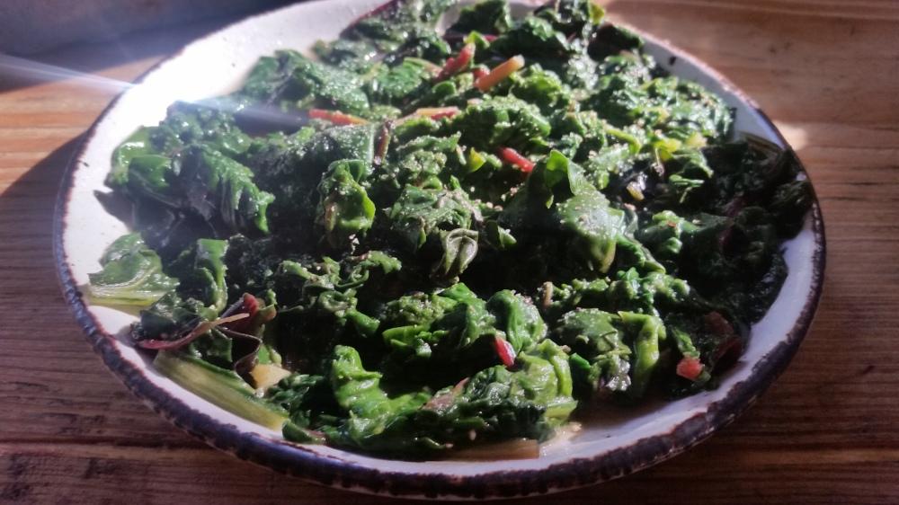 Epinards au beurre spinach