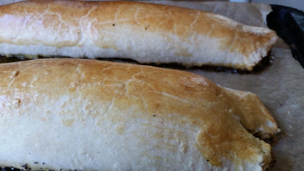Slovenian Poppy seed Easter bread