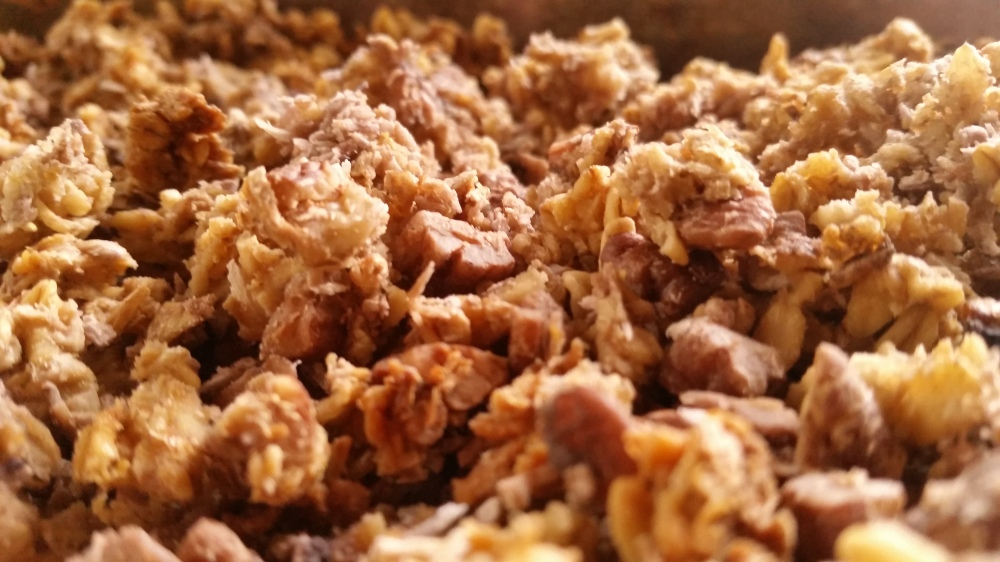 soaked granola