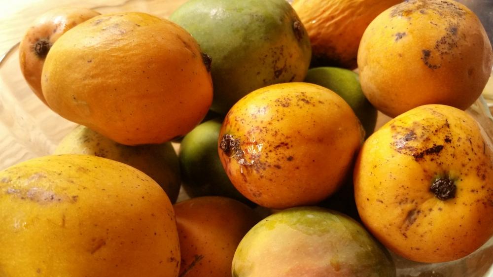 Mango barbeque sauce