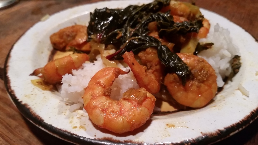 Roselle Shrimp Curry