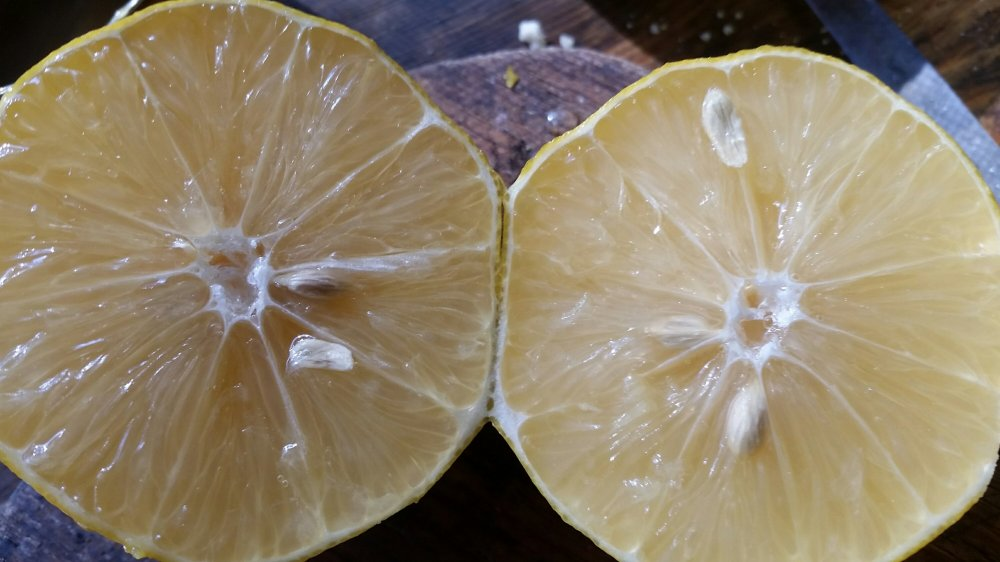 Grain free lemon cake