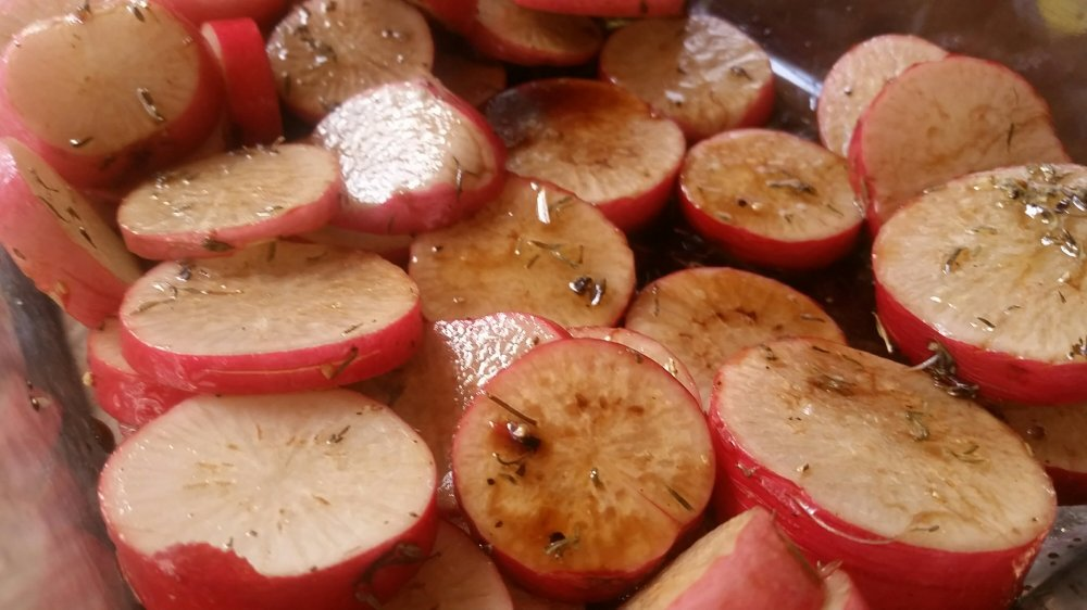 Roasted Radishes 4