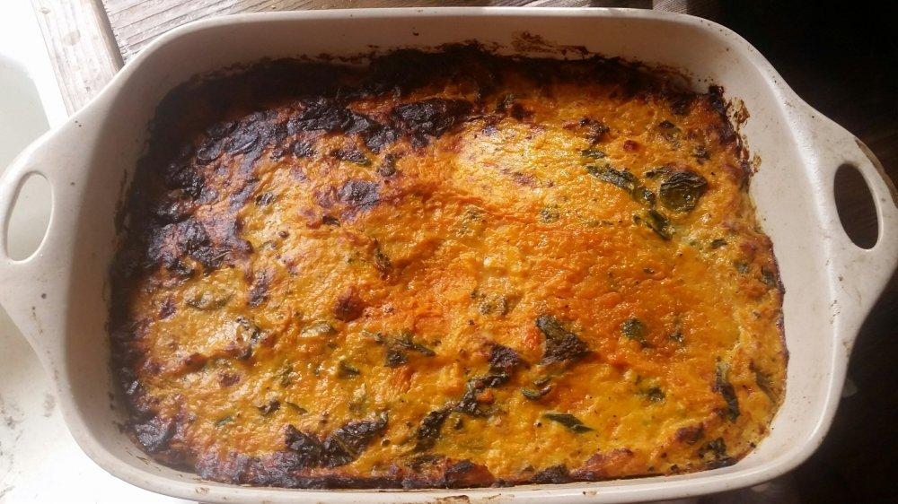 Pumpkin and Broccoli casserole 5
