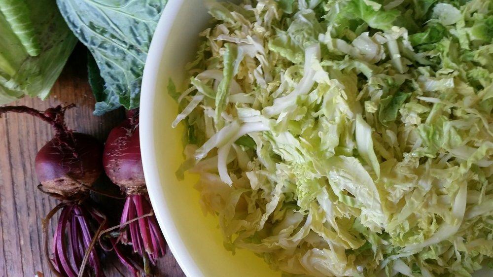 Pink sauerkraut 5