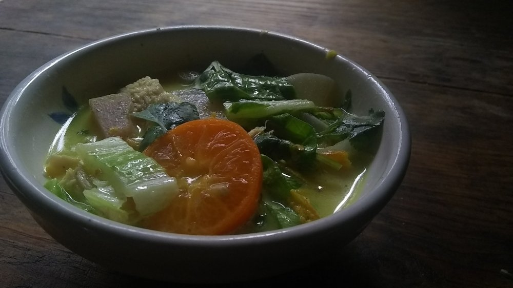 Turmeric-Coconut soup 11
