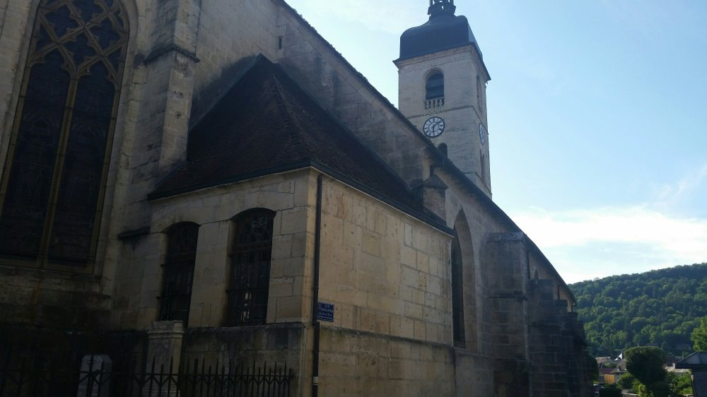 Ornans church