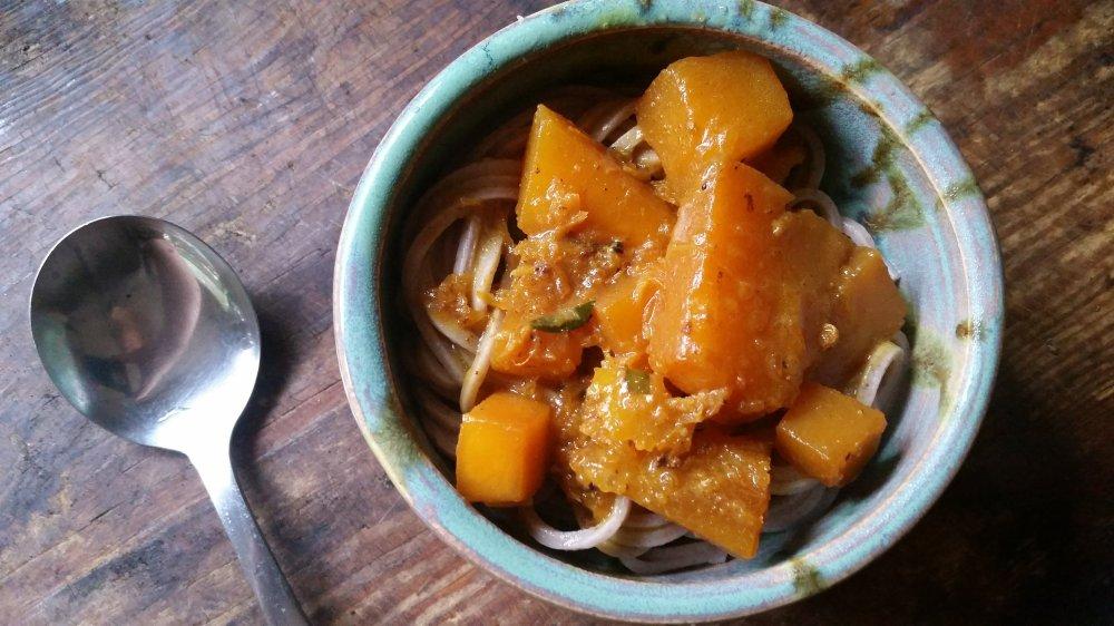 Pumpkin curry 3